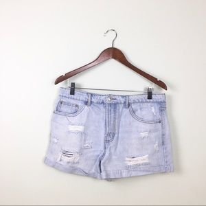Forever 21 distressed jeans shorts size 29